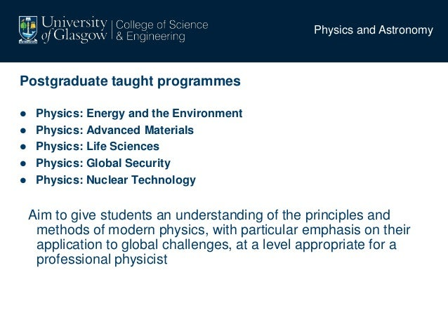 application of physics in environmental science and technology