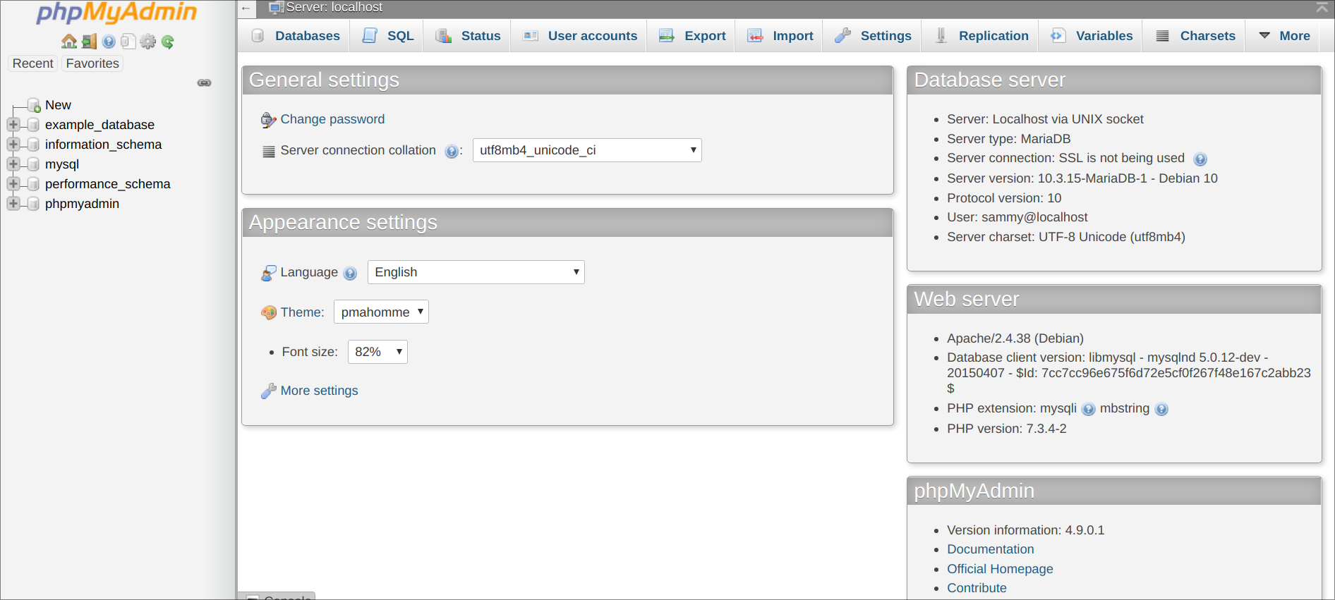 web application to interact with web service