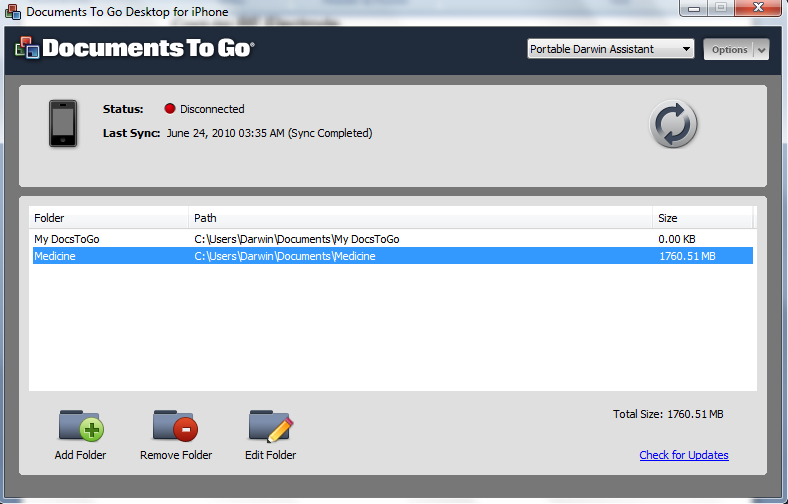 documents to go application for desktop